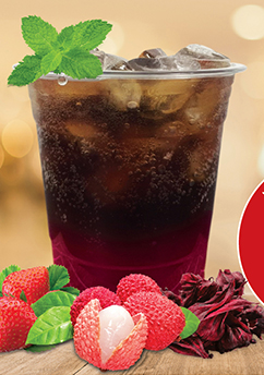 Very Berry Sparkling Coffee